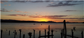 Sunset In Cathlamet