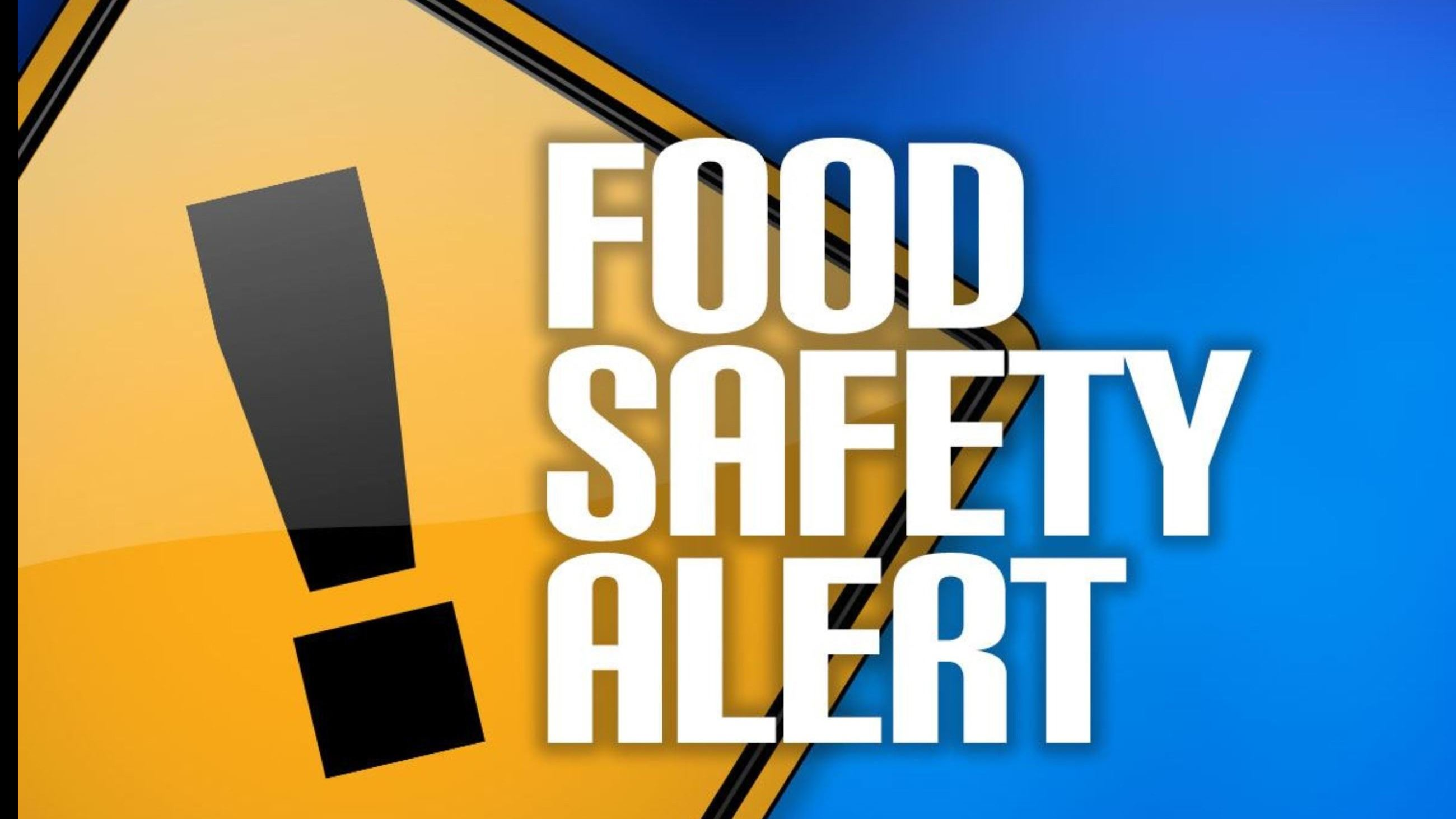 Food Safety Alert