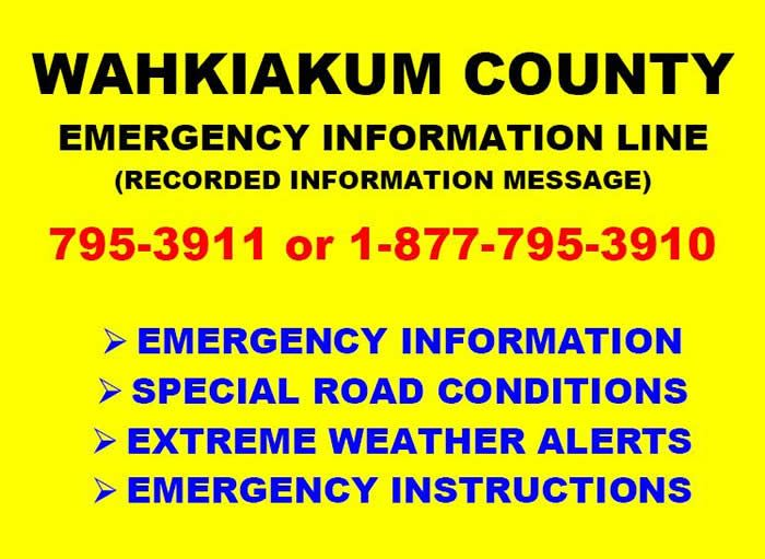 Emergency Information Line image